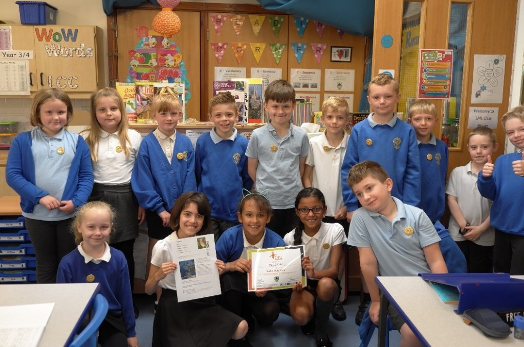 Years 3 & 4 at Millfield Primary School